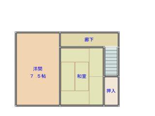 間取り_菊池邸1(藤岡町藤岡)