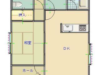 間取り(1F)_藤田邸(西野田町)