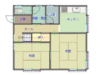間取り図(1F)