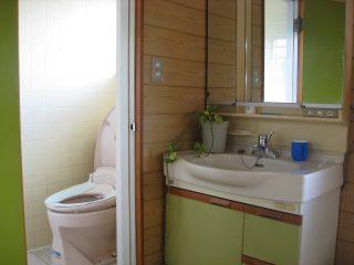 洗面&トイレ(2F)