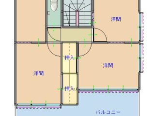 間取り図(2階)